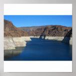 El lago Mead del Preso Hoover Posters