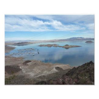 El lago Mead pasa por alto la impresión Nevada de