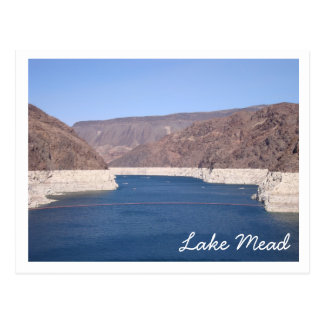 El lago Mead Postales