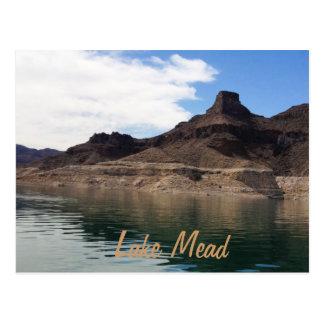 El lago Mead Tarjeta Postal