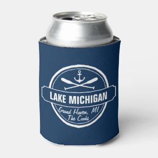 El lago Michigan, ciudad de encargo, nombre, Enfriador De Latas