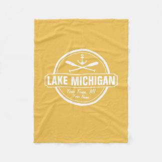El lago Michigan, ciudad de encargo, nombre, Manta Polar
