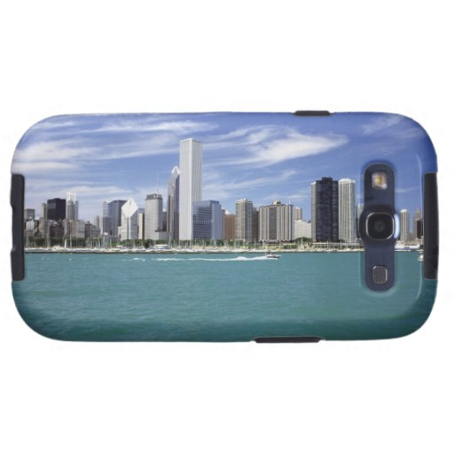 El lago Michigan, horizonte, destinos del viaje, Samsung Galaxy SIII Funda