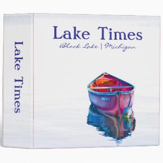 El lago mide el tiempo de la carpeta roja de la ca