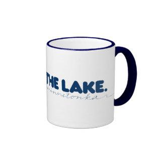 El lago Minnetonka Tazas De Café
