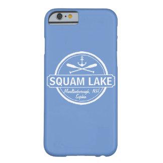El lago NH Squam personalizó la ciudad, el nombre Funda Para iPhone 6 Barely There