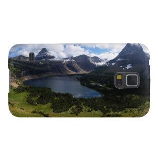 El lago ocultado park nacional de Glaicer pasa por Carcasa De Galaxy S5