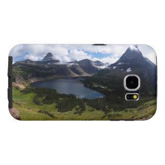 El lago ocultado park nacional de Glaicer pasa por Fundas Samsung Galaxy S6