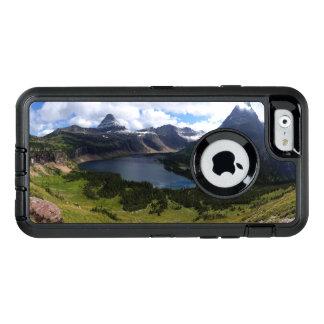 El lago ocultado Parque Nacional Glacier pasa por Funda OtterBox Defender Para iPhone 6