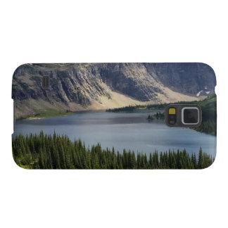 El lago ocultado pasa por alto el Parque Nacional Funda Para Galaxy S5