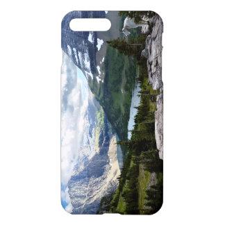 El lago ocultado pasa por alto el Parque Nacional Funda Para iPhone 7 Plus