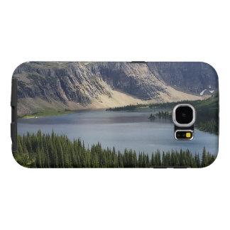 El lago ocultado pasa por alto el Parque Nacional Fundas Samsung Galaxy S6