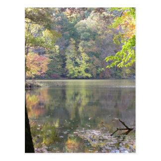 El lago Ogle la postal