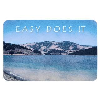 El lago reservado fácil lo hace imán superior de F