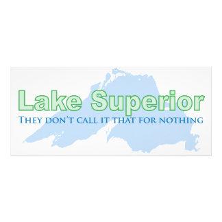 El lago Superior; No lo llaman eso para nada Diseños De Tarjetas Publicitarias