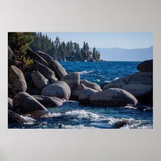 El lago Tahoe #10 Póster