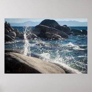 El lago Tahoe #16 Póster