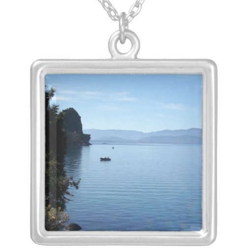 El lago Tahoe 2 Colgante Personalizado