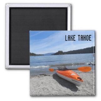 El lago Tahoe, CA Imán Cuadrado
