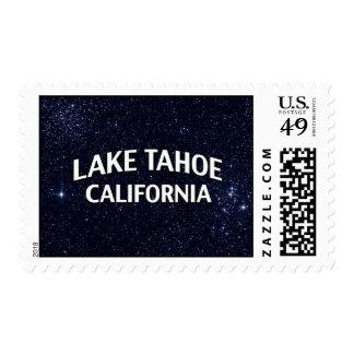 El lago Tahoe California Franqueo