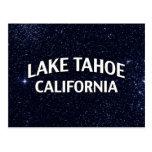 El lago Tahoe California Tarjeta Postal
