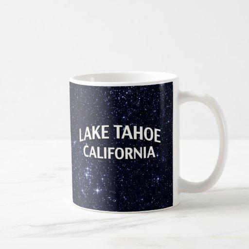 El lago Tahoe California Taza