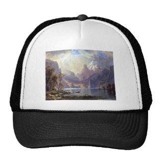 El lago Tahoe de Albert Bierstadt, paisaje del Gorra