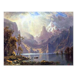 El lago Tahoe de Albert Bierstadt, paisaje del Comunicados Personales