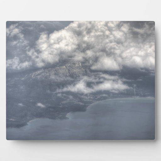 El lago Tahoe del cielo Placas Con Fotos