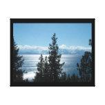 ¡El lago Tahoe envolvió la lona crea su arte para  Impresion De Lienzo