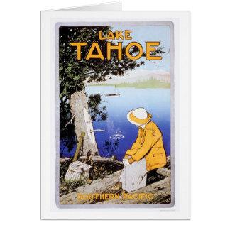 El lago Tahoe Felicitación