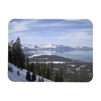 El lago Tahoe Imán Flexible