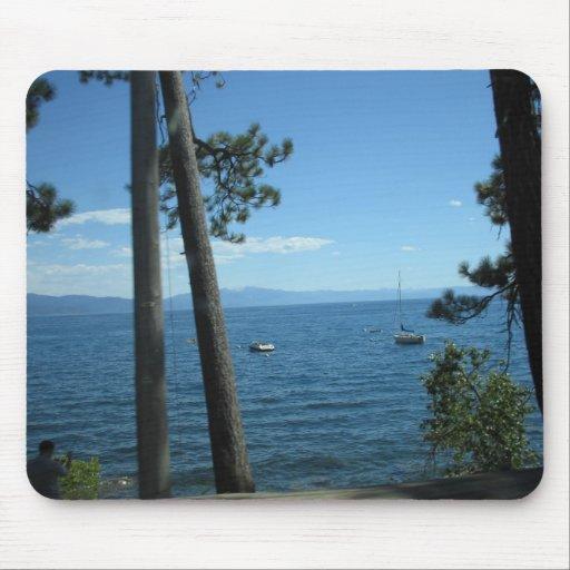 El lago Tahoe Mousepad