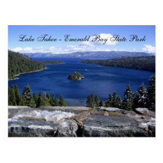 El lago Tahoe - parque de estado esmeralda de la b Postales