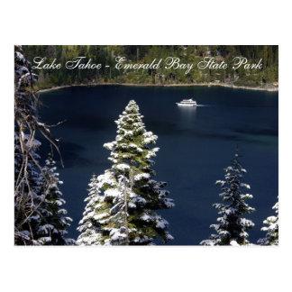 El lago Tahoe - parque de estado esmeralda de la Tarjetas Postales