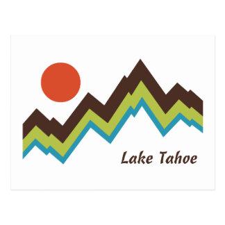 El lago Tahoe Postal