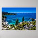 El lago Tahoe Poster