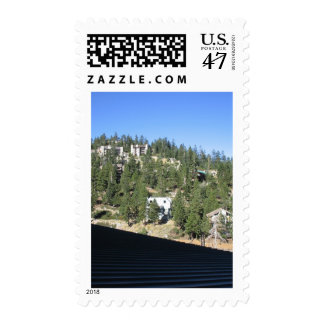 El lago Tahoe Sello Postal