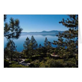 El lago Tahoe Tarjetas
