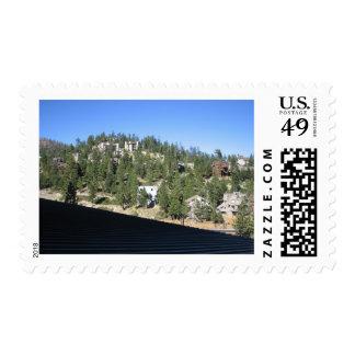 El lago Tahoe Timbre Postal
