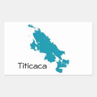 El lago Titicaca Rectangular Altavoz