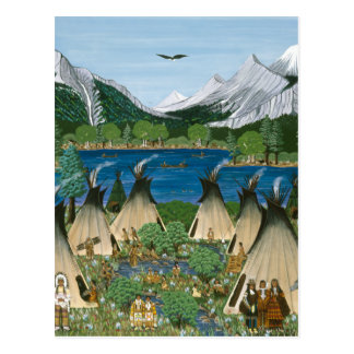 El lago Wallowa del ~ de Nez Perce Postales