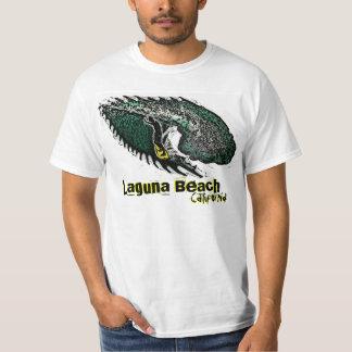 El Laguna Beach California agita la camiseta del Remeras