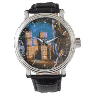 El lamassu y el reloj de la puerta de Ishtar