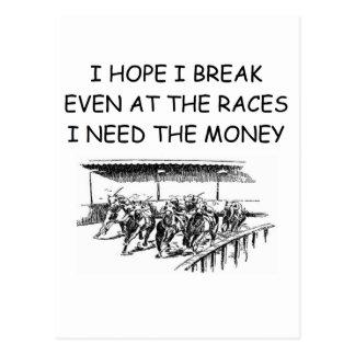 el lament del apostante tarjetas postales