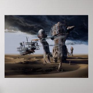 El Langoliers o la entropía inevitable, impresión  Posters