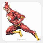 El lanzarse del flash pegatinas