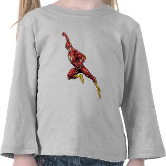 El lanzarse del flash camiseta