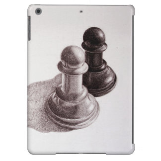 El lápiz dibujado empeña ajedrez