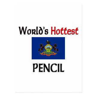El lápiz más caliente del mundo postal